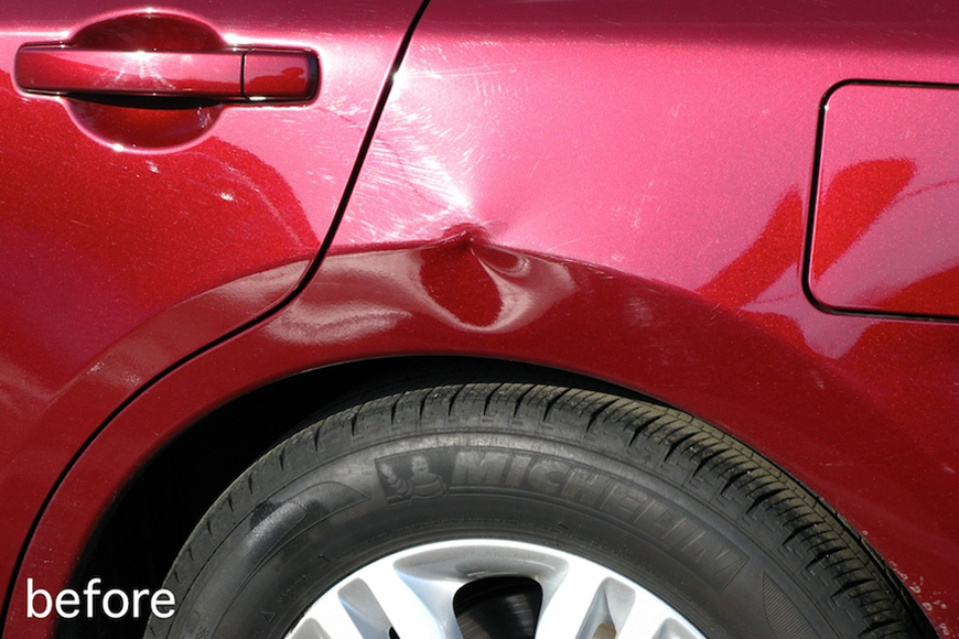 Paintless Dent Repair Performance Express Paint Amp Dent